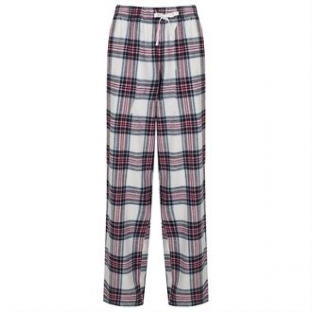 Women's tartan lounge pants