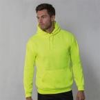 Enhanced visibility hoodie