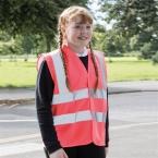 Kids enhanced-visibility vest