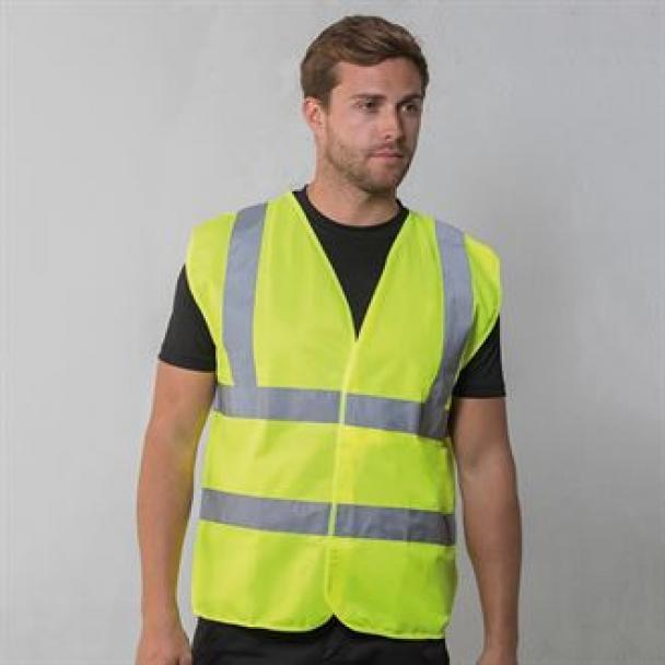 High-visibility waistcoat
