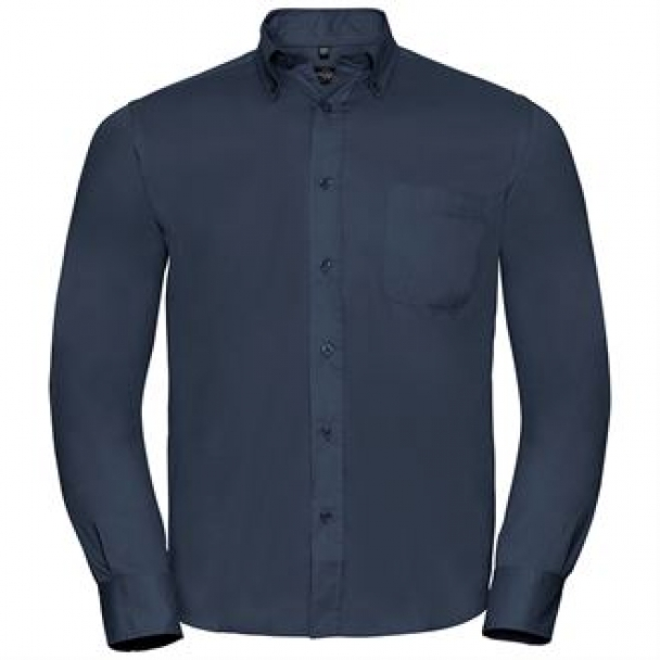 Long sleeve classic twill shirt