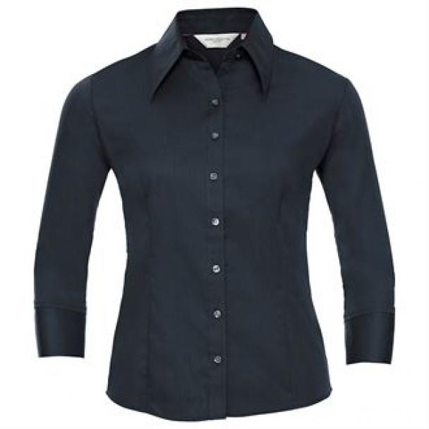 Women's ¾ sleeve Tencel® fitted shirt