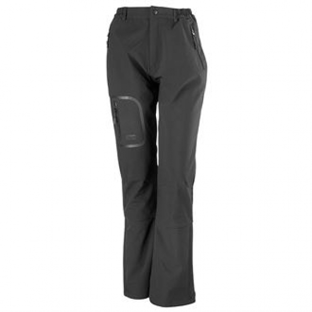 Women's tech performance softshell trousers