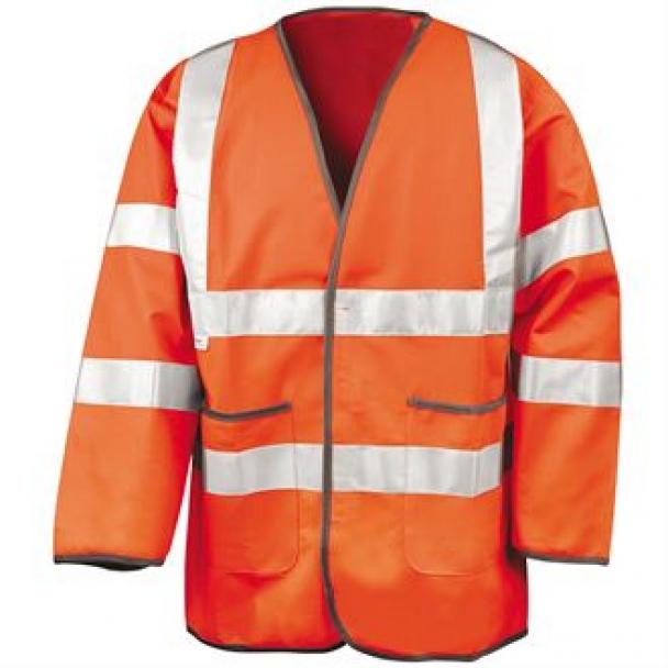Motorway safety jacket