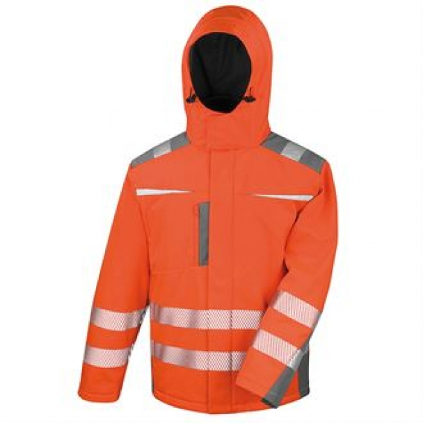 Dynamic softshell coat