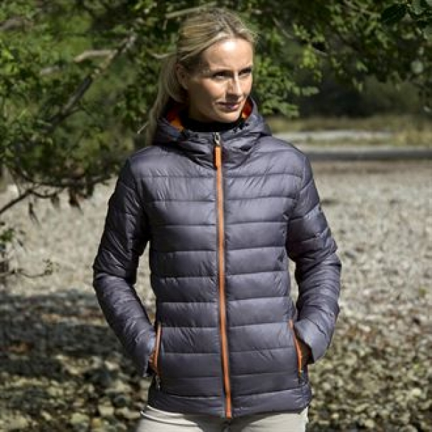 Women's Urban snow bird hooded jacket