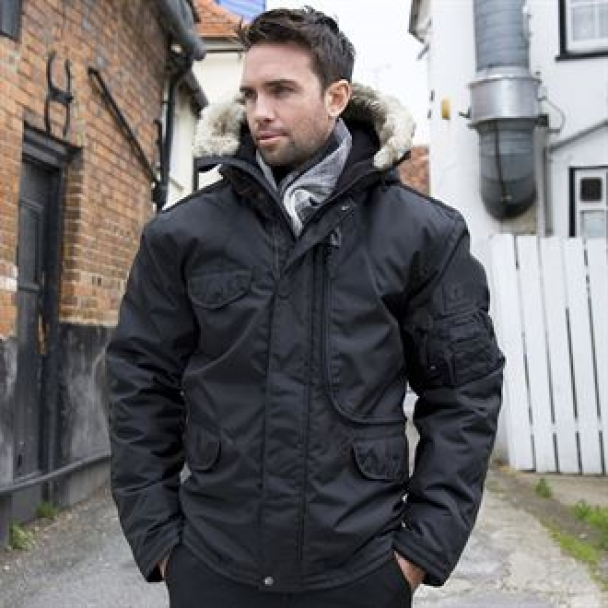 Ultimate cyclone parka