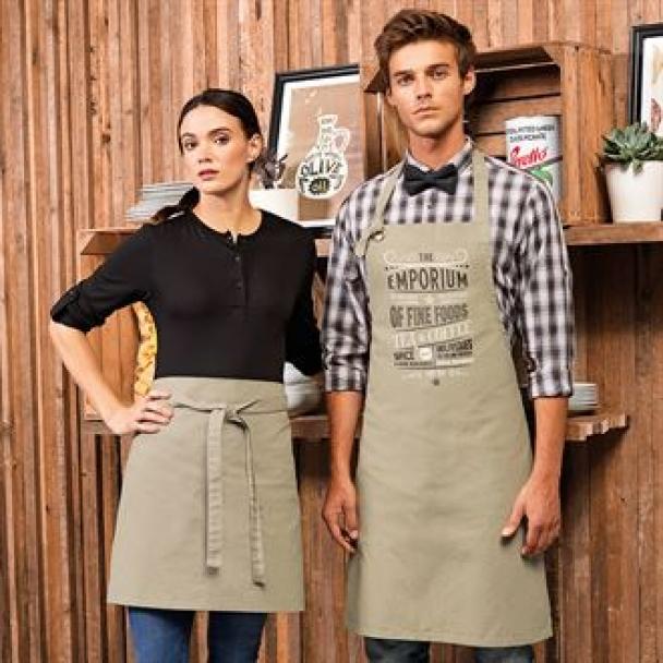 Calibre heavy cotton canvas waist apron
