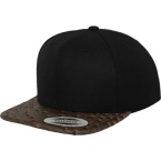 Leather snapback (6089LH)