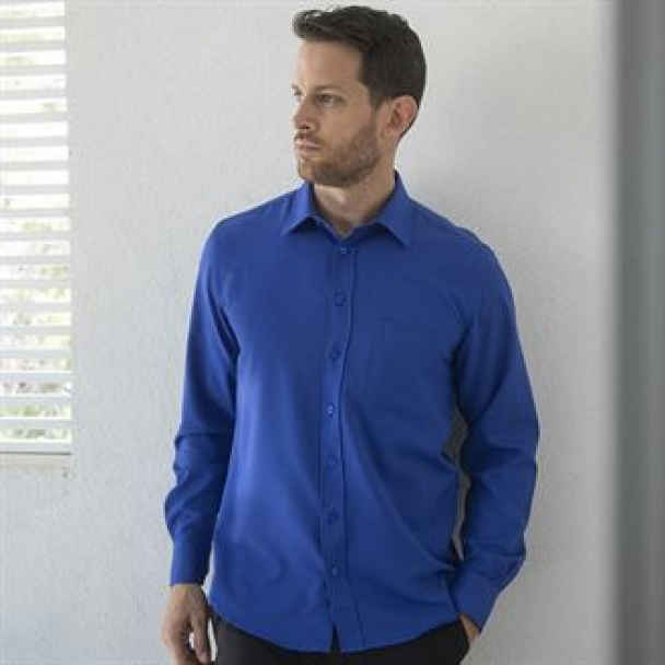 Wicking antibacterial long sleeve shirt