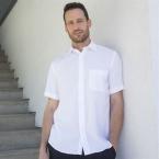 Wicking antibacterial short sleeve shirt