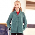 Kids full-zip outdoor fleece