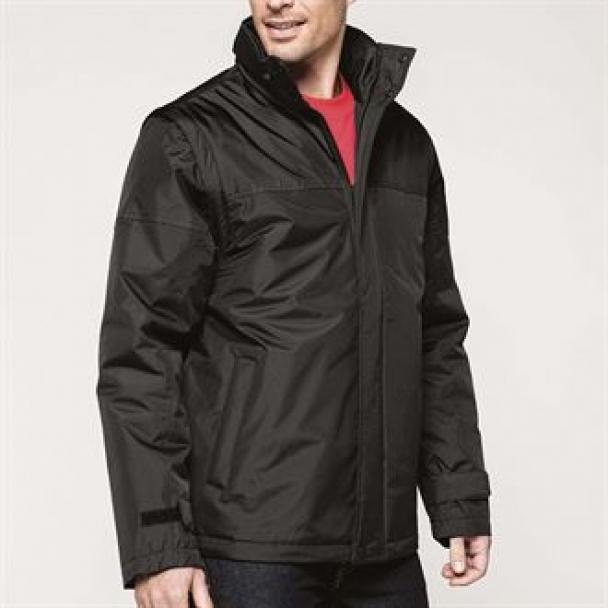 Factory detachable sleeve blouson jacket