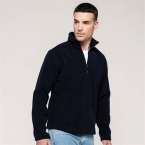 Zip-through microfleece jacket