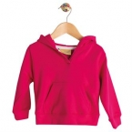 Toddler hooded sweatshirt with kangaroo pocket