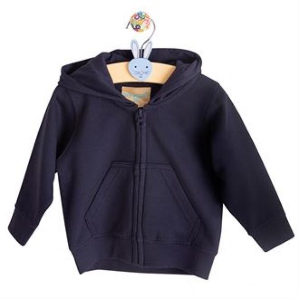 Zip-through hoodie