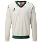 Fleece-lined sweater