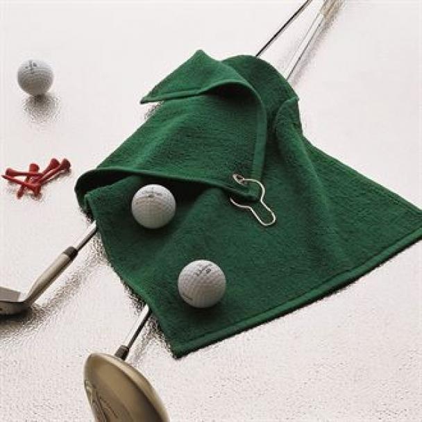 Luxury range golf towel