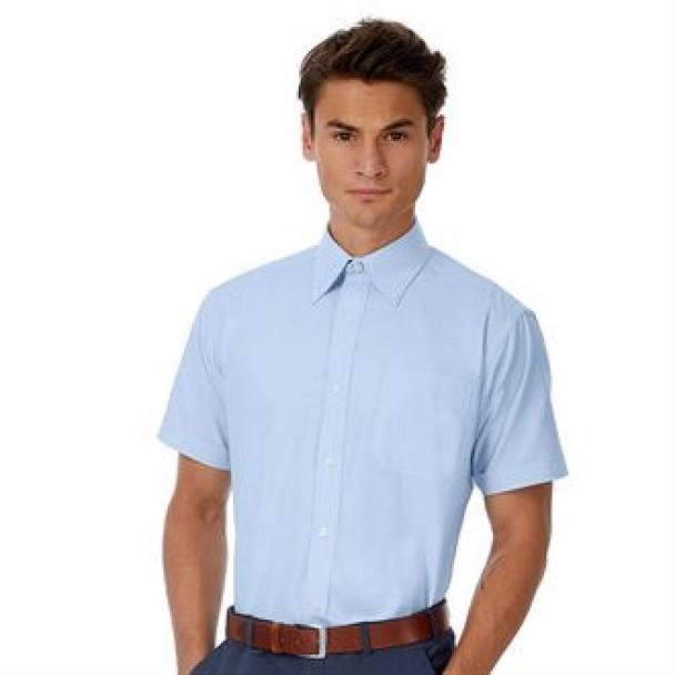 B&C Oxford short sleeve /men