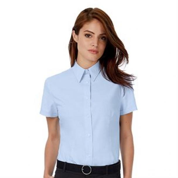 B&C Oxford short sleeve /women