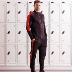 Knitted tracksuit top