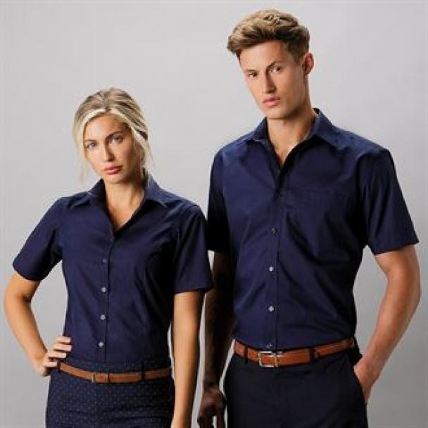 Business shirt short sleeved