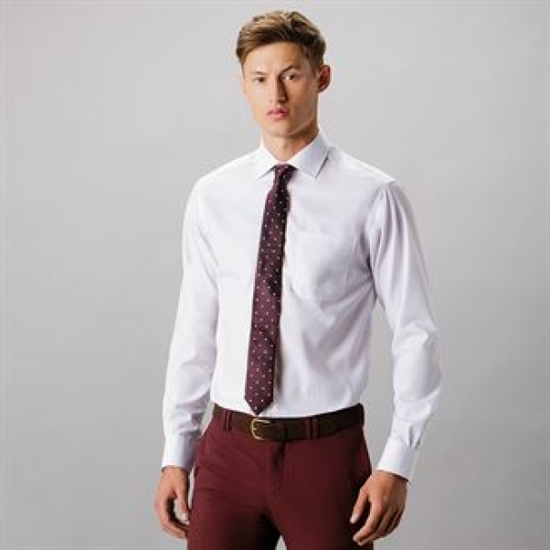 Premium non-iron corporate shirt long sleeved