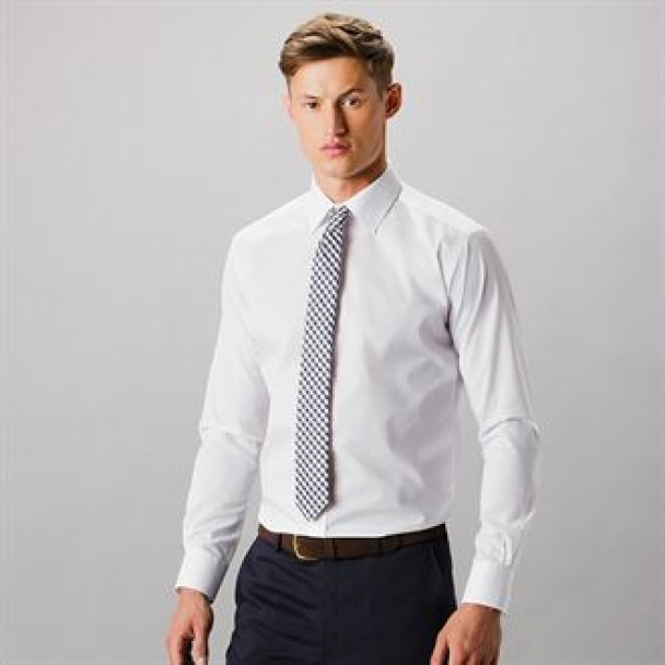 Slim fit business shirt long sleeve
