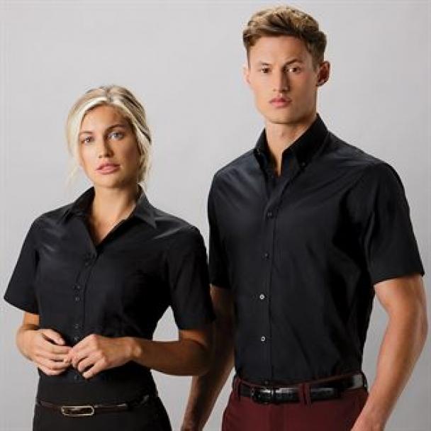 Women's city business blouse short sleeve
