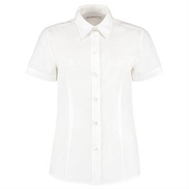 Women's workforce blouse short sleeved