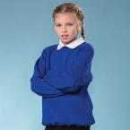Kids Coloursure™ curved raglan sweatshirt