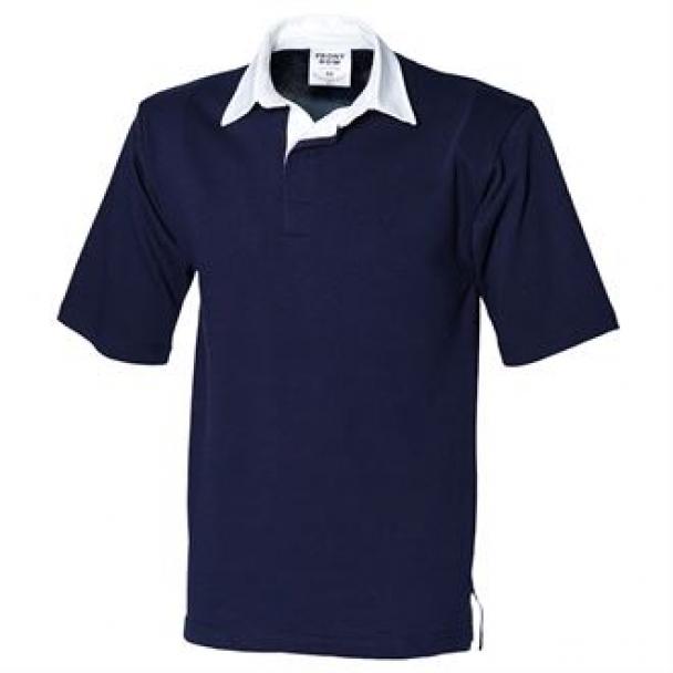 Short sleeve rugby shirt