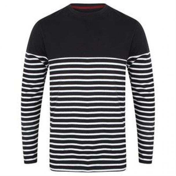 Long sleeve Breton striped T