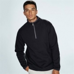 Supersoft ¼ zip sweatshirt