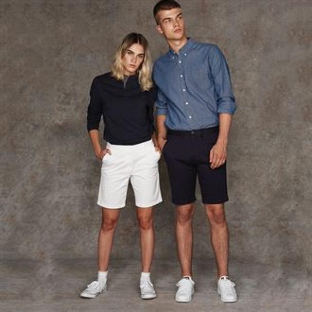 Stretch chino shorts - tag-free
