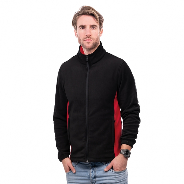 UC617 Two Tone Full Zip Fleece Jacket