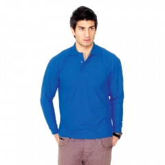UC113 Long Sleeved Poloshirt