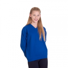 UC206 Childrens V-Neck Sweatshirt