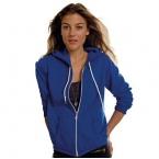 Anvil women's full zip hooded sweat
