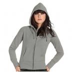 Hooded full zip /women