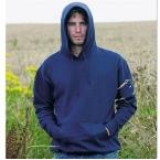 100% Organic drop shoulder hoodie