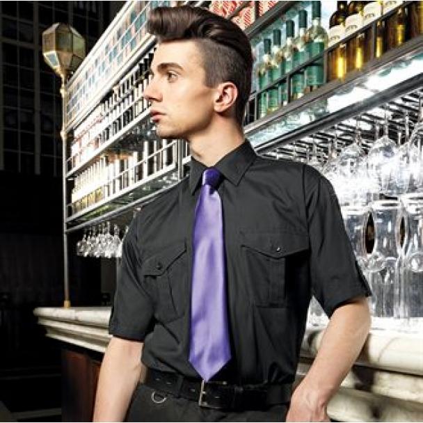 Tab sleeve shirt