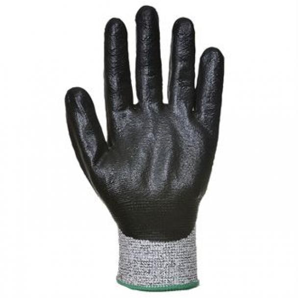 Cut level 5 3/4 Nitrile foam glove (A621)