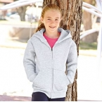 Premium 70/30 kidS hooded sweat jacket