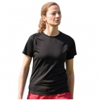 Women's plain wicking t-shirt