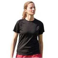 Women's plain wicking t-shirt