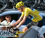 Congratulatins to Chris Froome Yellow Jersey winner for the 2nd time