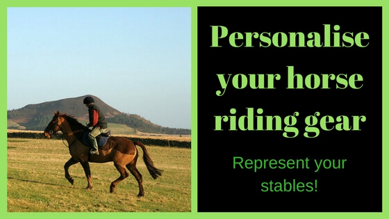 Personalise Your Riding Gear