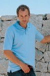 Cotton Pique Golf shirt can be embroidered in four places to promote your company, team or event