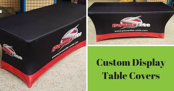 Custom Display Table Covers